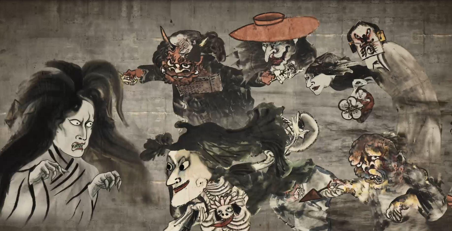 'Yōkai Hikimaku' animation premieres in London