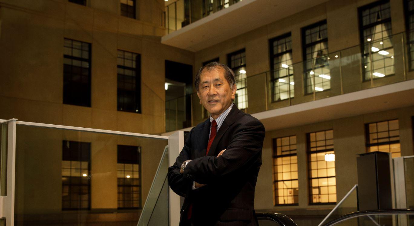 President Aiji Tanaka, newly elected 17th President of Waseda University