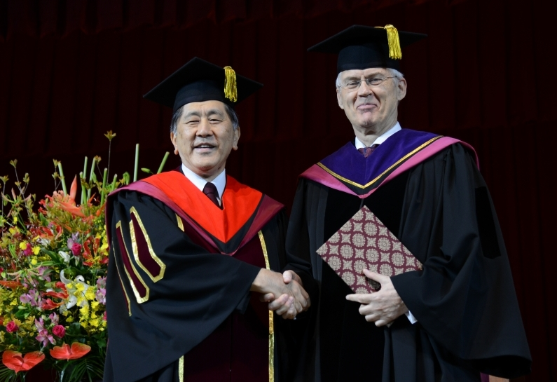 Honorary Doctorate's speech at the Fall 2019 Entrance Ceremony