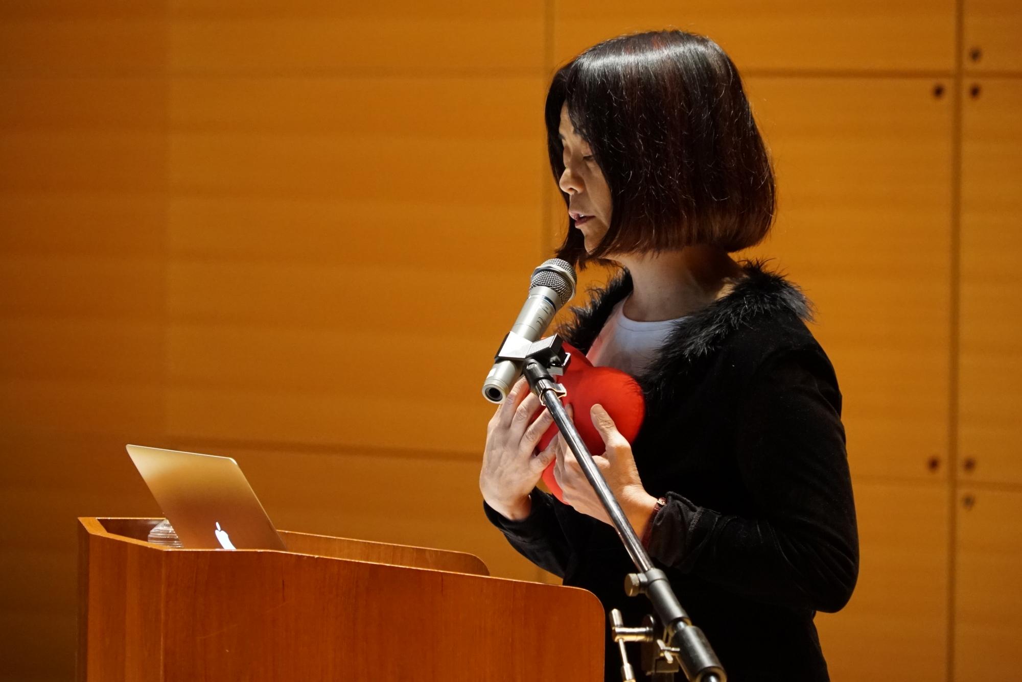 "Performance of ""Clockwork Hamlet"" by Award-winning Author Yoko Tawada and Pianist Aki Takase"