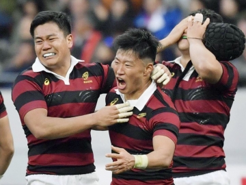 Waseda beats Meiji to claim crown in 11 years at All-Japan University Rugby Football Championships
