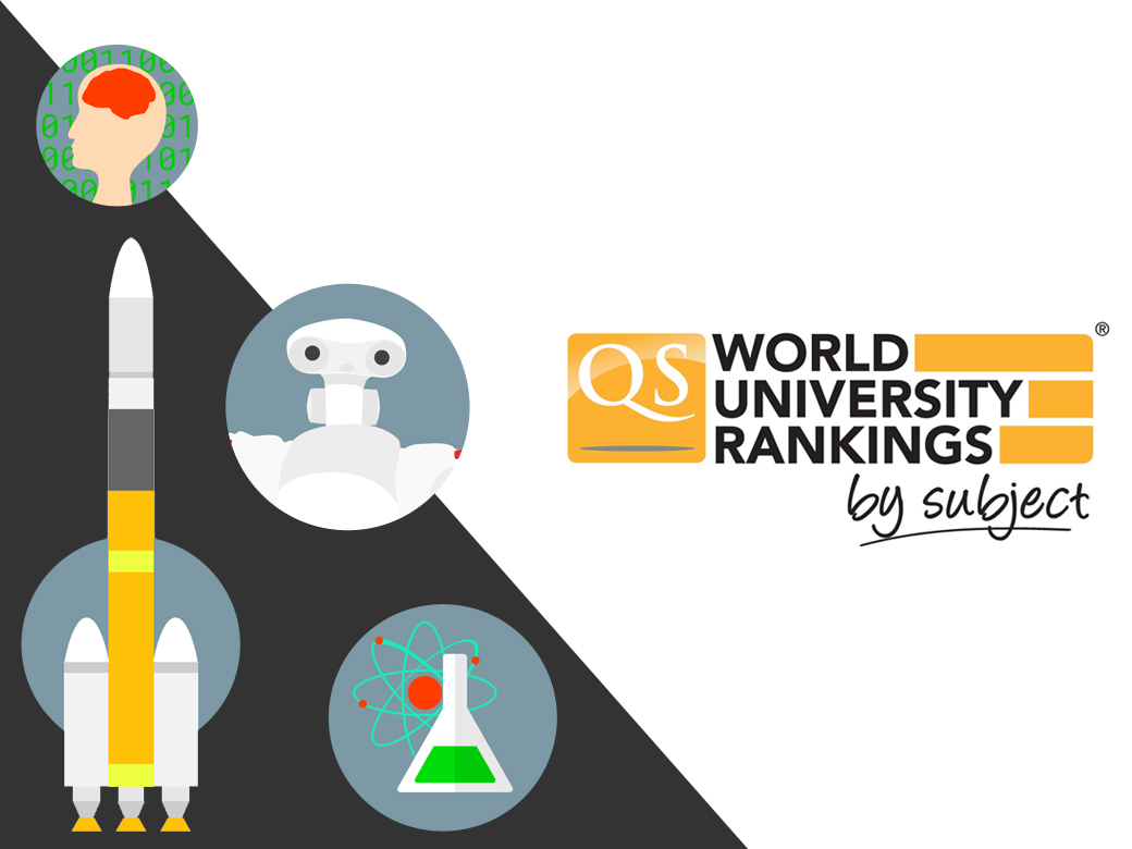 10 subjects ranked in world's top 100