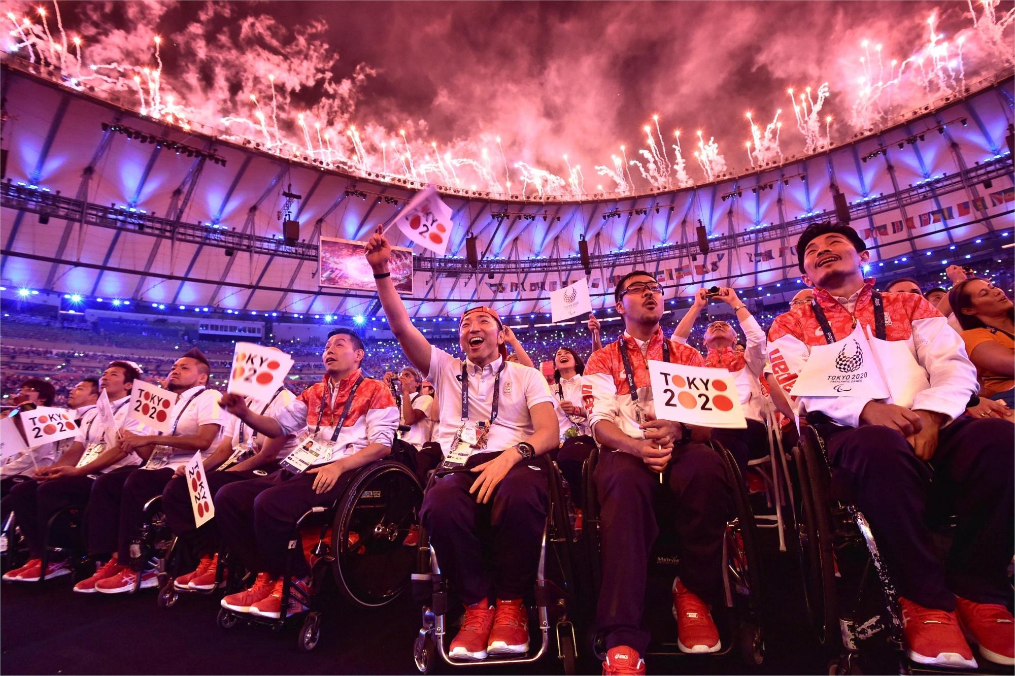Athletes competing at Tokyo 2020 Paralympic Games