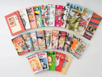 Alumni manga artists' work on display at history museum